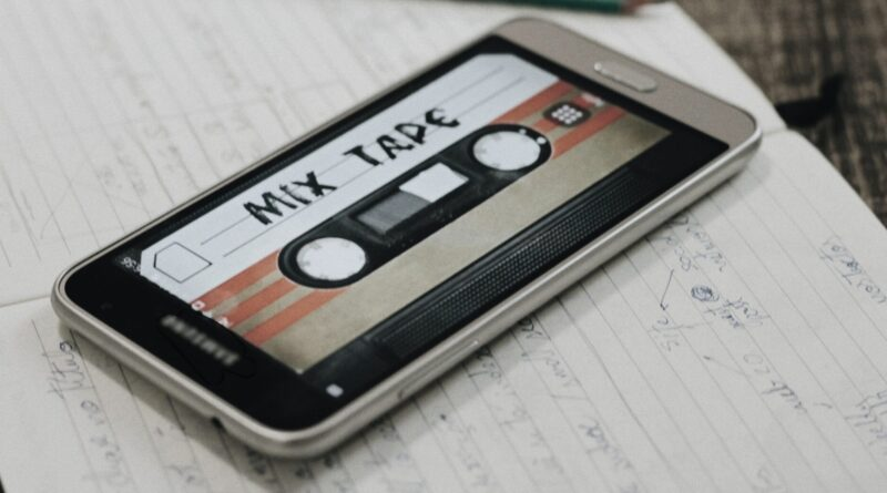Mix Tape Sharing App